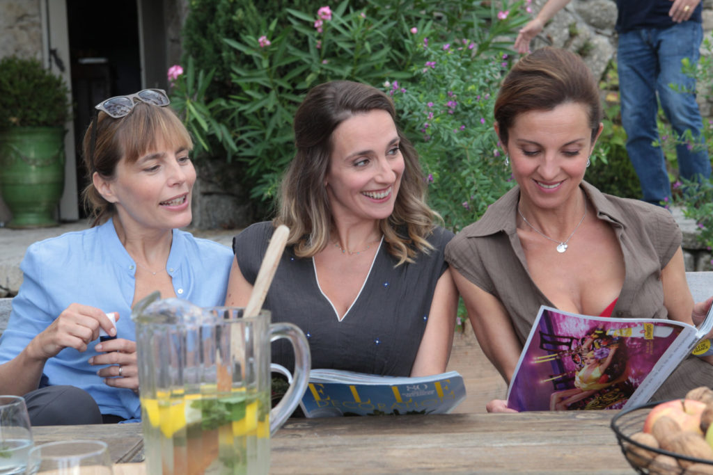 Photo Sophie Duez, Valérie Crouzet, Lysiane Meis