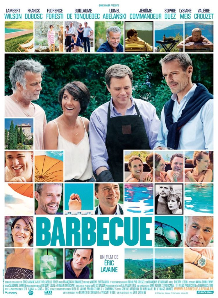 Affiche de Barbecue Le Film sortie le 30 avril 2014